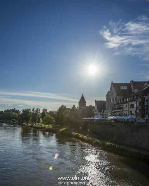 Ulm von der Herdbrücke