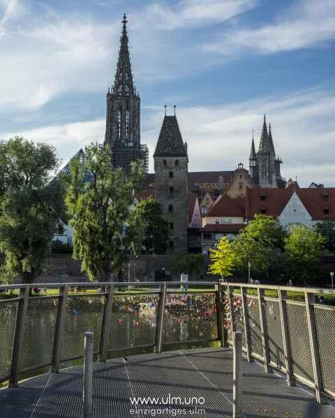 Metzgerturm, Rathaus und Münster