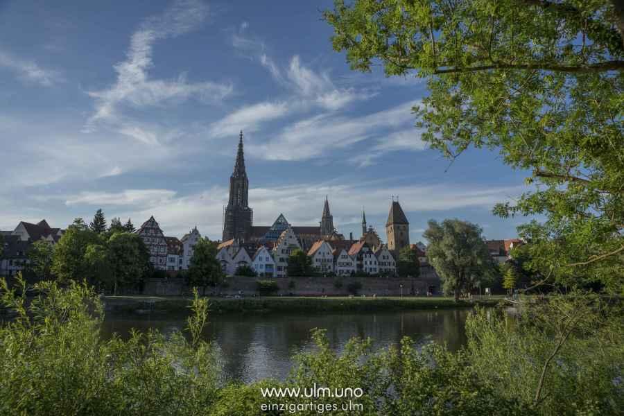 Ausblick von Neu-Ulm
