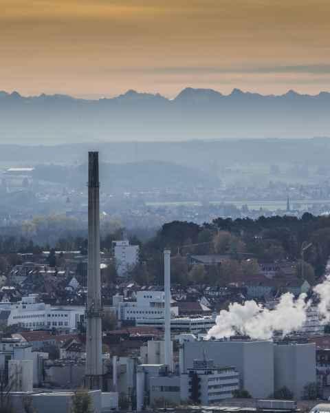 Fön - Alpen - Ulm