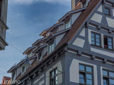 Altstadt Ulm - die Gassen nördlich des Münsters