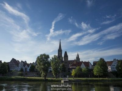 Donaurunde an der Altstadt