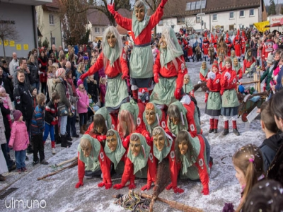 Narrensprung Eggingen 2017