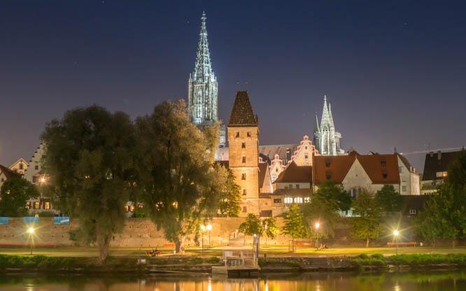 Ulmer Münster Höchster Kirchturm Der Welt Wwwulmuno