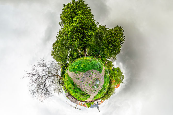 Little Planet - Wilhemshöhe Ulm