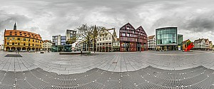 Ulm in interaktiven 360° Panoramen